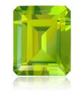 Peridot gem